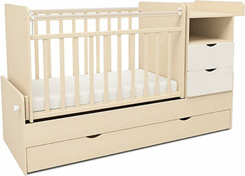 Детская кроватка Sweet Baby Valentino Avorio Bianco (Слоновая кость белый) пеленальный комод sweet baby venerdi avorio слоновая кость жираф 382 038