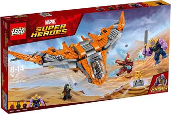 купить Конструктор Lego Танос: последняя битва 76107 по цене 4377 рублей