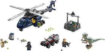 Конструктор Lego Погоня за Блю на вертолёте 75928 конструктор lego jurassic world погоня за блю на вертолёте