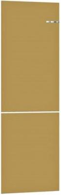 Навесная панель на двухкамерный холодильник Bosch VarioStyle KGN 39 IJ 3 AR со сменной панелью Цвет: Жемчужно-золотой навесная панель на двухкамерный холодильник bosch variostyle цвет жемчужно белый