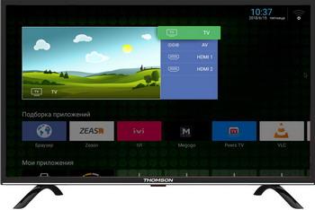 Фото - LED телевизор Thomson T 32 RTL 5130 память ddr4 4x16gb 3600mhz corsair cmk64gx4m4b3600c18 rtl pc4 28800 cl18 dimm 288 pin 1 35в