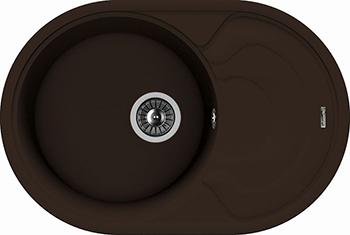 лучшая цена Кухонная мойка Florentina Родос-760 мокко FSm
