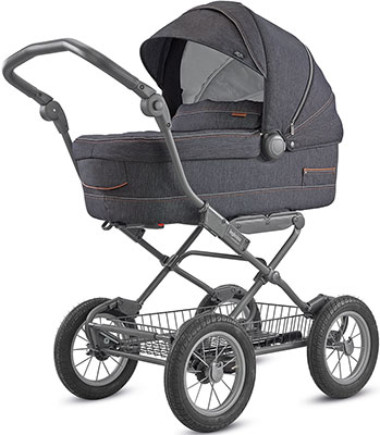 Коляска Inglesina Sofia System Duo 2 в 1 на шасси Ergo Bike (AA 15 K6VLD AE 15 H 6100) VILLAGE DENIM KA 15 K6VLD цена