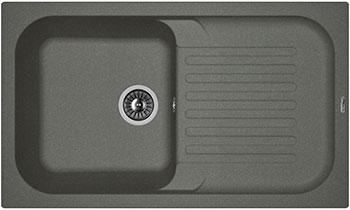 Кухонная мойка Florentina Арона 860 860х510 черный FG цены