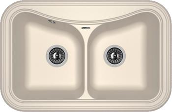 Кухонная мойка Florentina Крит-780 А 780х510 жасмин FS