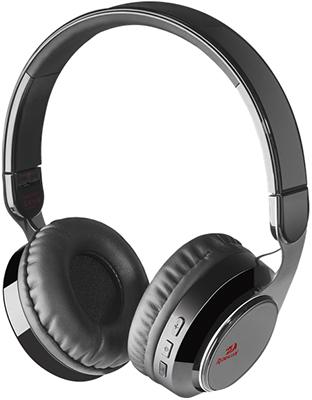 Фото - Беспроводная Bluetooth-гарнитура Redragon Sky B черный 64210 комплект клавиатура мышь microsoft designer bluetooth desktop 7n9 00018 usb беспроводной черный
