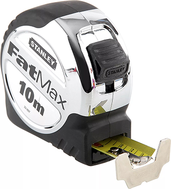 Рулетка Stanley ''FatMax Xtreme'' 10Мх32мм 0-33-897 рулетка stanley fatmax 30мx9 5мм 0 34 132