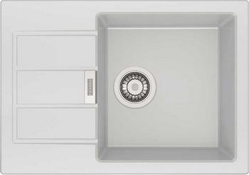 Кухонная мойка FRANKE Sirius SID 611-62/38 белая 114.0489.204 цена в Москве и Питере