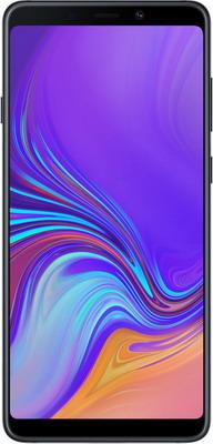 Смартфон Samsung Galaxy A9 (2018) SM-A 920 F черный смартфон samsung galaxy a9 2018 sm a920f 6 128gb черный