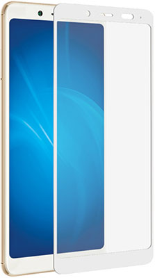 Защитное стекло Red Line Xiaomi Redmi Note 5 (3Gb/32Gb) 99 Full Screen tempered glass белый FULL GLUE