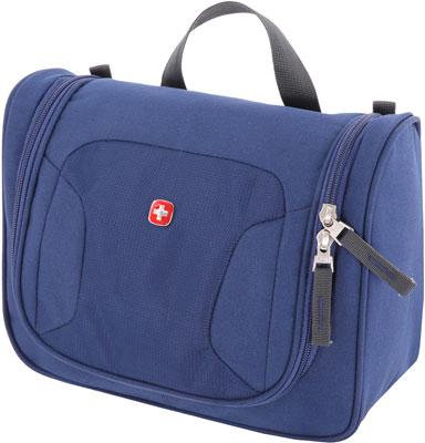 Несессер Swissgear дорожный синий полиэстер 27х11х22 см SA1092343002 el casa чехол дорожный 26х20х10 см синий