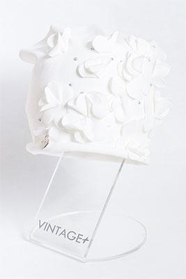 Шапочка Vintage Николь молочный шляпка vintage ветер странствий молочный