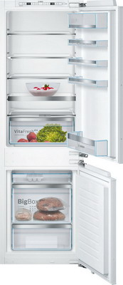 Встраиваемый двухкамерный холодильник Bosch KIS 86 AF 20 R встраиваемый двухкамерный холодильник siemens ki 86 nvf 20 r