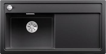 Кухонная мойка BLANCO ZENAR XL 6S (чаша слева) SILGRANIT антрацит с кл.-авт. InFino 523974 кухонная мойка blanco zenar xl 6s чаша справа silgranit шампань с кл авт infino 523950