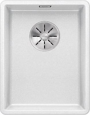 Кухонная мойка Blanco SUBLINE 320-F белый с отв.арм. InFino 523419 кухонная мойка blanco subline 320 f белый с отв арм infino 523419