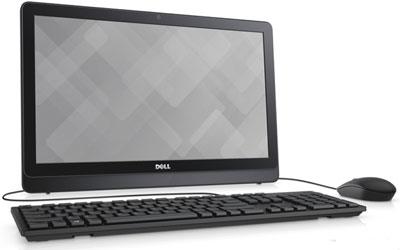 купить Моноблок Dell Inspiron 3464-0599 черный по цене 37990 рублей