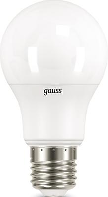 Лампа GAUSS LED A 60 10 W E 27 3000 K 1/10/50 все цены