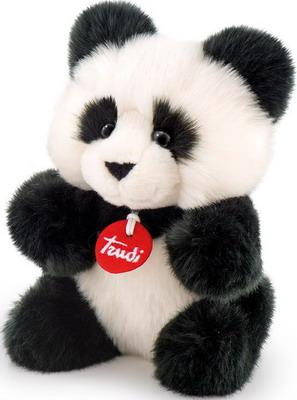 Мягкая игрушка Trudi Панда-пушистик 29005 trudi мягкая игрушка панда кевин сидячая 34 см