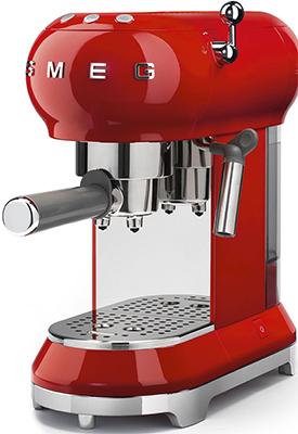 Кофеварка Smeg ECF 01 RDEU красная все цены