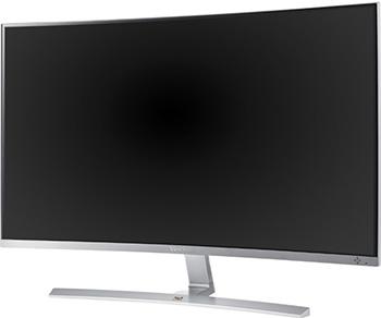 ЖК монитор ViewSonic VX 3216-SCMH-W-2 (VS 16577) WHITE цена