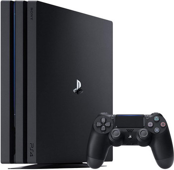 Игровая приставка Sony PlayStation 4 Pro 1TB Black (CUH-7208 B) игровая консоль sony playstation 4 slim 1tb black cuh 2208b gran turismo sport god of war horizon zero dawn ce psn 3 месяца