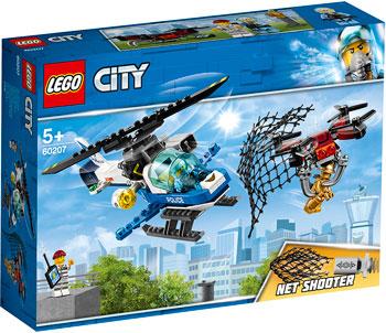 Конструктор Lego Воздушная полиция: погоня дронов 60207 City Police конструктор lego city police воздушная полиция патрульный самолет 60206