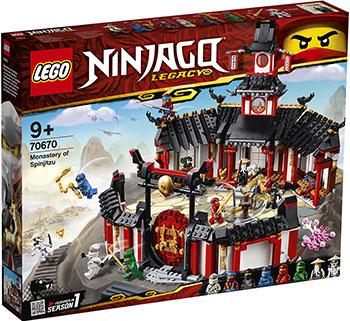 цена на Конструктор Lego Монастырь Кружитцу 70670 Ninjago Legacy