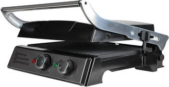 Электрогриль GFgril GF-155 GRILL-PANINI-BARBECUE ariete 733 party grill электрогриль