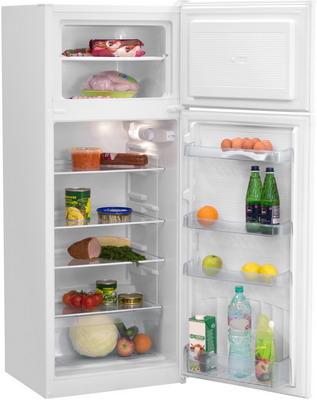 Двухкамерный холодильник NordFrost NRT 141 032 белый цены
