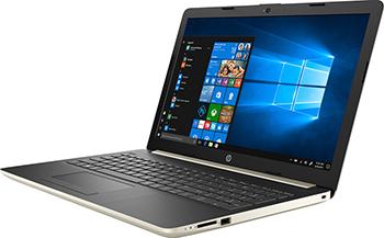 Ноутбук HP 15-da 0174 ur (4MU 61 EA) золотистый цена