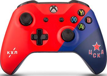 цена на Геймпад Microsoft Xbox One КХЛ ''ЦСКА''