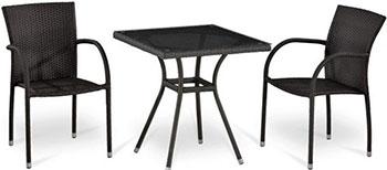 Комплект мебели Афина T 282 BNT-W 2390/Y 282-W 52 Brown 2Pcs