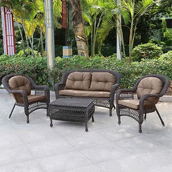 Комплект мебели Афина LV 520 BB Brown/Beige комплект плетеной мебели афина мебель lv130 brown beige