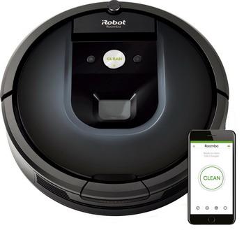 цена на Робот-пылесос iRobot Roomba 981 черно-синий