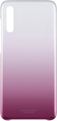 Фото - Чехол (клип-кейс) Samsung A 70 (A 705) Gradation Cover pink EF-AA 705 CPEGRU чехол клип кейс samsung a 70 a 705 gradation cover black ef aa 705 cbegru
