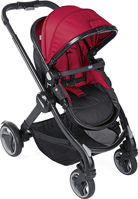 Коляска Chicco Fully - Single Stroller Red Passion