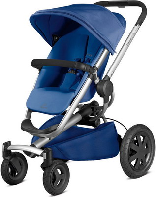 Коляска Quinny Buzz Xtra 4 blue base 79609130 quinny buzz xtra high landscape folding three wheeled shock absorber baby pram