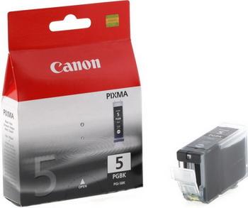 Картридж Canon PGI-5Bk 0628 B 024 Чёрный canon pgi 5bk black картридж для струйных мфу принтеров