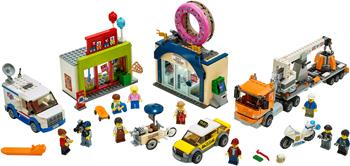 цена на Конструктор Lego City Town 60233 Открытие магазина по продаже пончиков