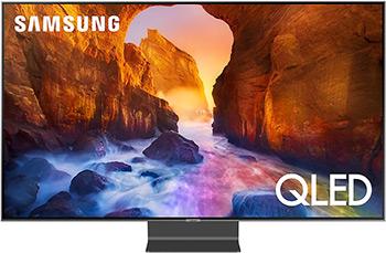 лучшая цена QLED телевизор Samsung QE 55 Q 90 RAUXRU