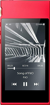 Hi-fi Портативный плеер FiiO M7 red цена и фото