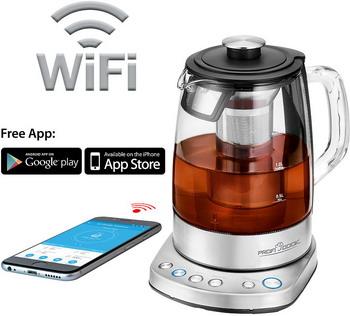 Чайник электрический Profi Cook PC-WKS 1167 G электрический чайник profi cook pc wks 1119
