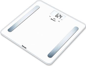 Весы напольные Beurer BF600 Pure White весы напольные beurer bf600 style