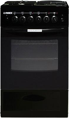 Комбинированная плита Reex CGE-531 ecBk черный газовая плита reex cge 540 ecbk