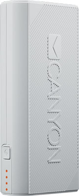 Внешний аккумулятор Canyon CNE-CPBF44W белый кабель canyon cne usbm1w microusb белый