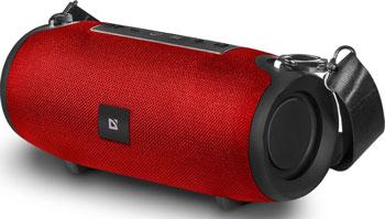 Портативная колонка Defender Enjoy S900 красный 10Вт BT/FM/TF/USB/AUX (65904) sports wireless behind the neck mp3 headphones w tf fm usb black green