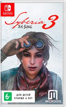 цена на Игра для приставки Nintendo Switch: Сибирь 3