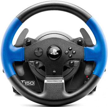 Руль Thrustmaster T150 Force Feedback (4160628) геймпад thrustmaster t wireless 3in1 rumble force 2960696 4160528