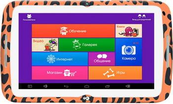Планшет Turbo Monsterpad РТ00020517 (16 ГБ) оранжевый планшет 3 гб оперативной памяти