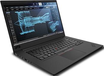 Ноутбук Lenovo ThinkPad P1 Xeon (20MD0012RT) чёрный